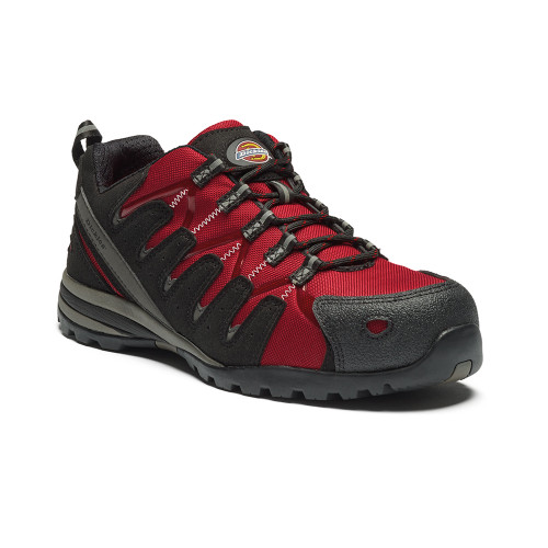 Dickies Tiber Safety Trainer - S3 Red (FC23530)