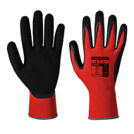 Traffic Light Red Cut-1 PU Palm Gloves