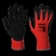 Traffic Light Red Cut-1 PU Palm Gloves