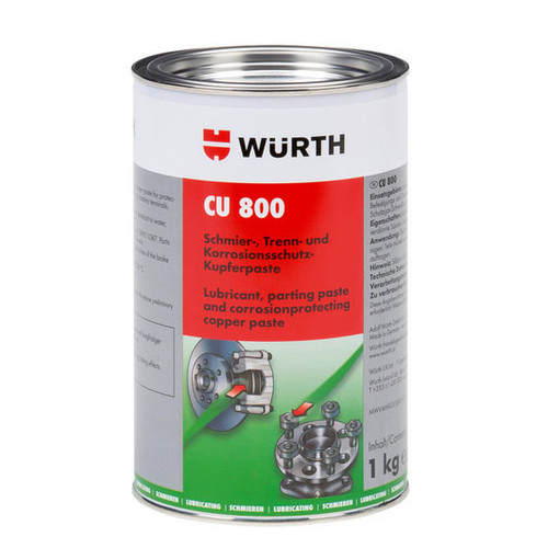 Wurth CU 800 Copper Slip Paste 1kg - 08938002