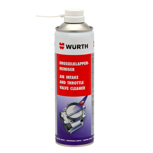 Wurth Throttle Valve & Air Intake Cleaner 500ml - 5861113500