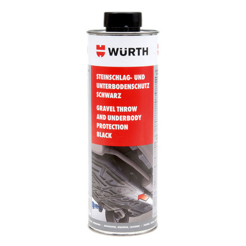 Wurth Underbody Gravel Protection Coating 1tr - 0892075300