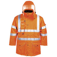 Hi-Vis 7-in-1 Traffic Jacket - GO/RT (RT27)
