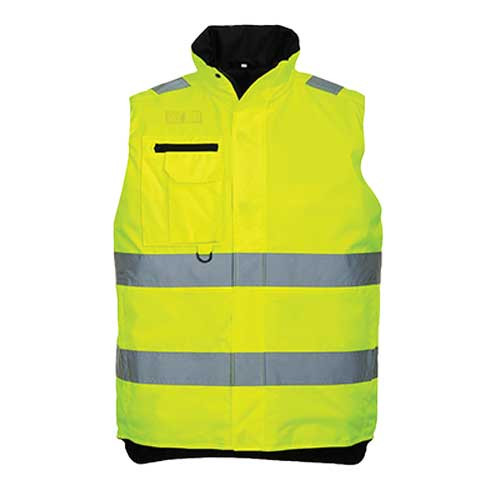 Hi-Vis Multi-Pocket Bodywarmer (S269)