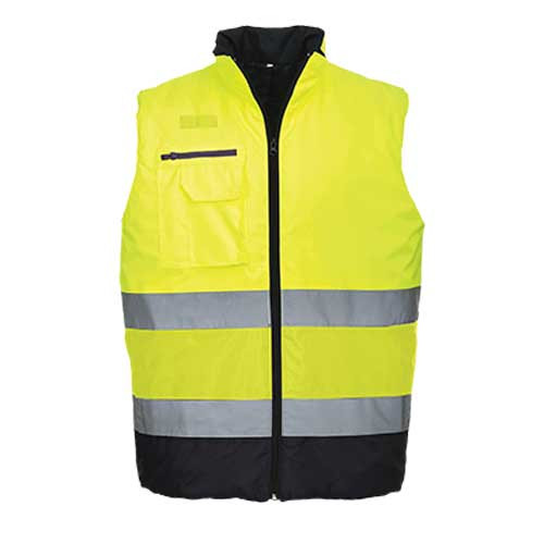 Hi-Vis Two-Tone Bodywarmer (S267)