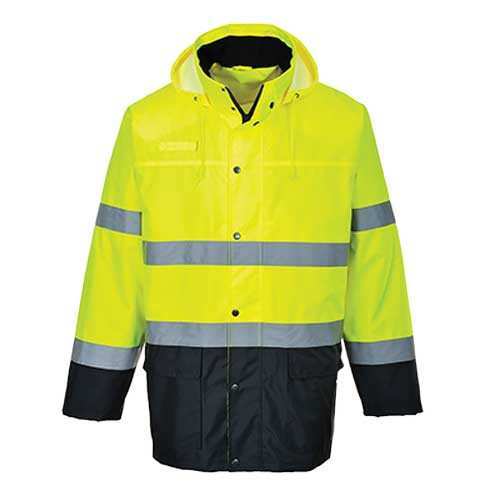 Hi-Vis Lite Two-Tone Traffic Jacket (S166)