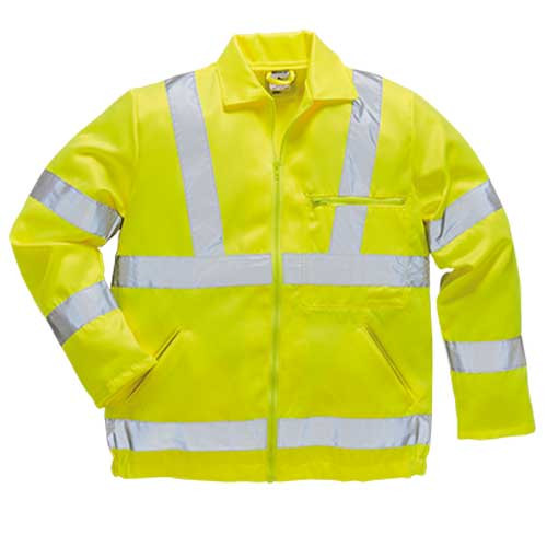 Hi-Vis Polycotton Jacket (E040)