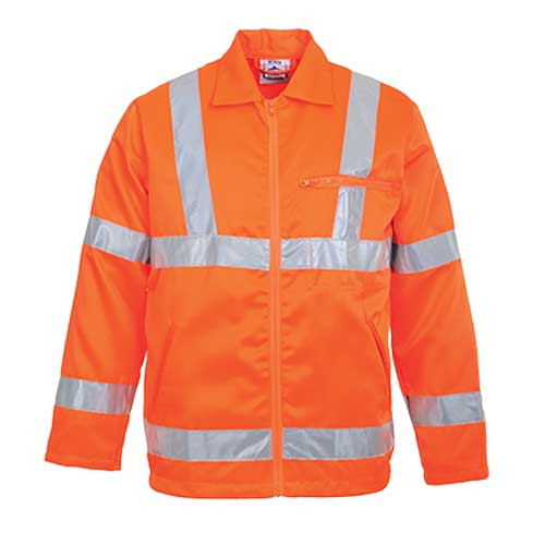 Hi-Vis Polycotton Jacket GO/RT (RT40)