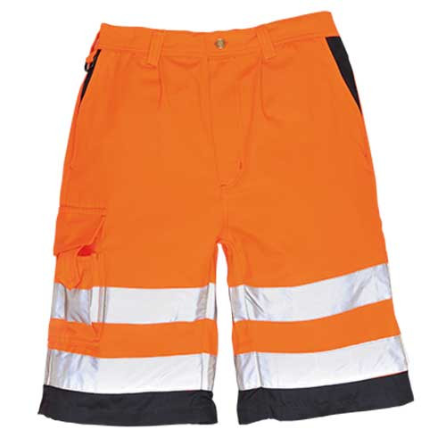 Hi-Vis Polycotton Shorts (E043)