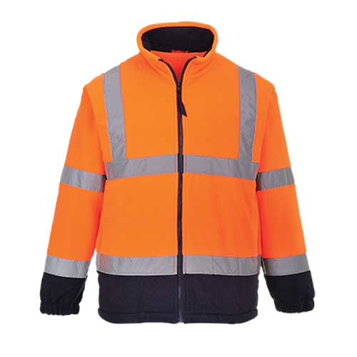 Hi-Vis Two-Tone Fleece GO/RT (F301 OR)