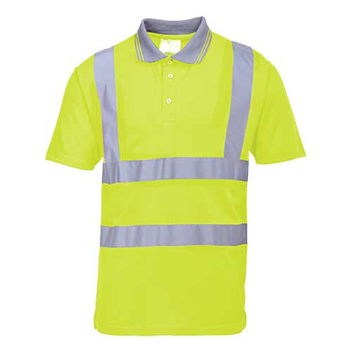 Hi-Vis Short Sleeve Polo Shirt (S477)
