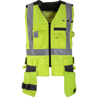 Tranemo Ce-Me Hi-Vis Craftsman Vest (486044)