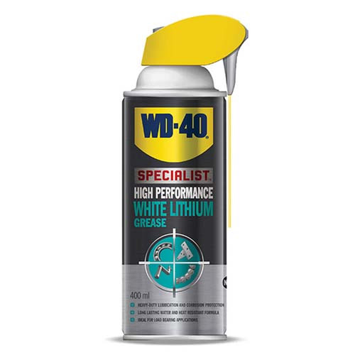 WD-40 Specialist White Lithium Grease Spray 400ml