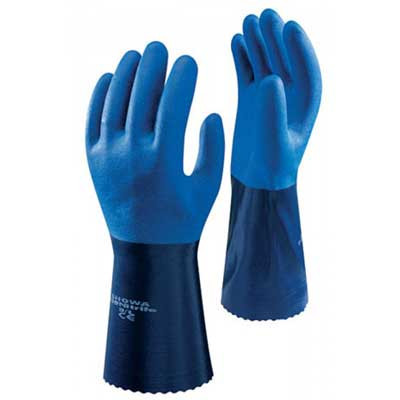 Showa 720 Chemical Resistant Nitrile Gloves (SHO720)