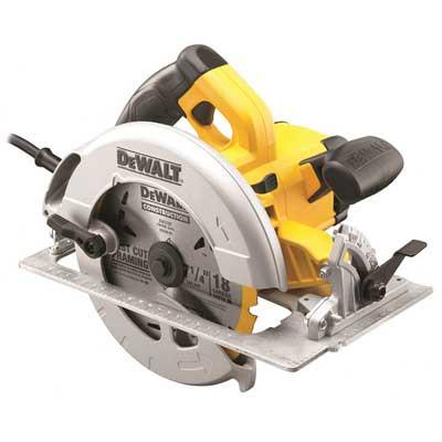 DeWalt 190mm Precision Circular Saw & Kitbox (DWE575K)