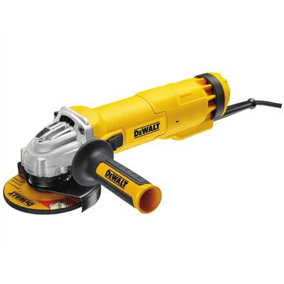 DeWalt 115mm Mini Grinder With Kitbox (DWE4206)