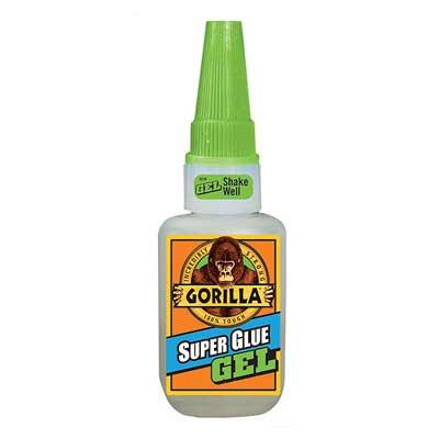 Gorilla Super Glue Gel 15g (GRGSGG15)