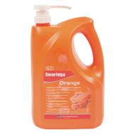 Swarfega Orange Hand Cleaner Pump Top 4ltr (SWASOR4LMP)