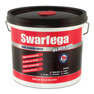 Swarfega Black Box Heavy-Duty Trade Hand Wipes (SWASBB150W)