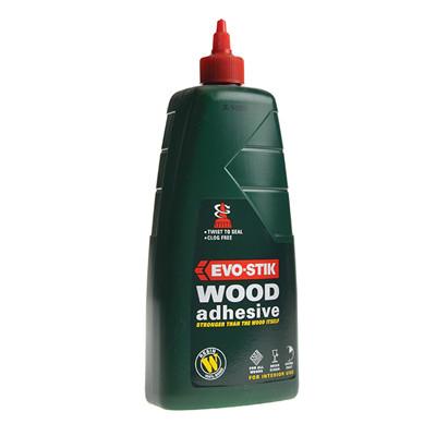 Evo-Stik Resin-W Wood Adhesive 1ltr (EVORW1L)