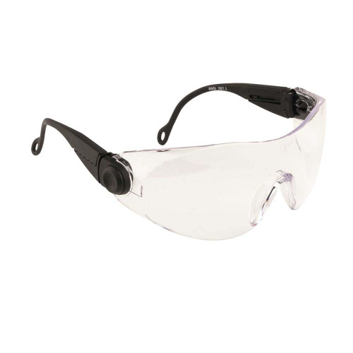 Contoured Safety Glasses - Clear