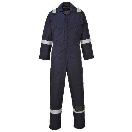 BizFlame Super Light Weight Anti-Static FR Coverall (FR21)