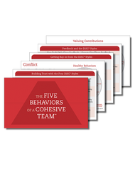 Five Behaviors of a Cohesive Team™ Powered by All Types™ Takeaway Cards