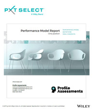 PXT Select™ Performance Model Report