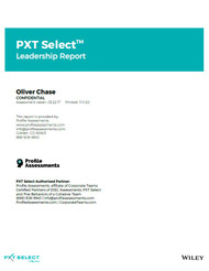 PXT Select Leadership Report from Profile Assessments