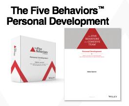 Five Behaviors Personal Development Assessment