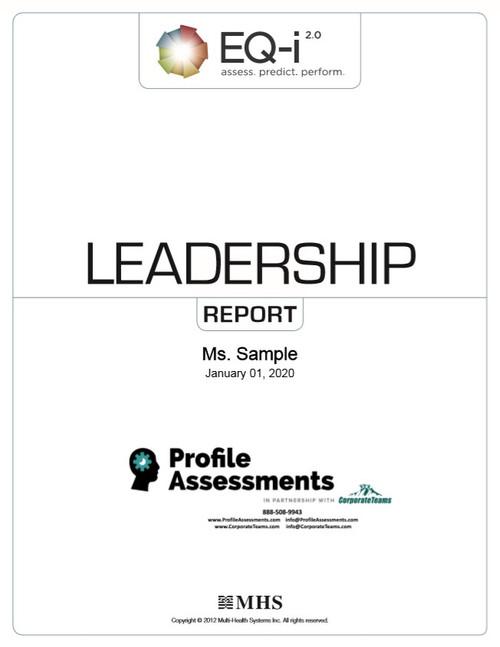 EQ-1 2.0 Leadership Report
