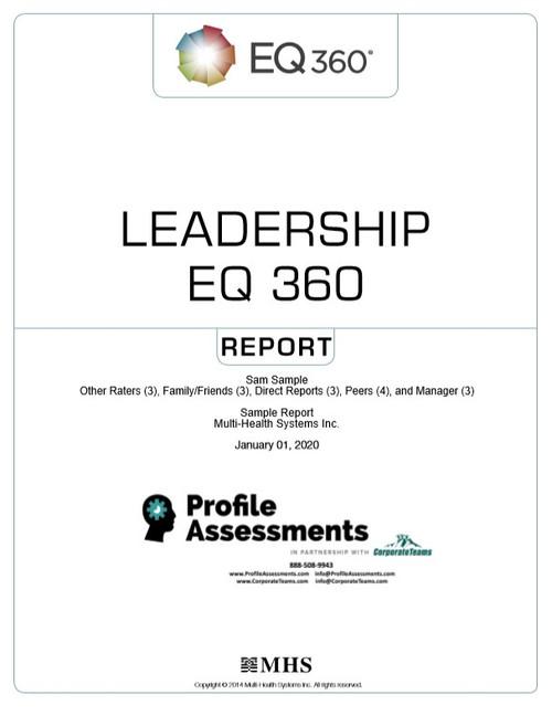 EQ 360 Leadership Report