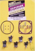 250 250C 350 350C 400 700R4 700 4L60 SUPERIOR GOVERNOR SHIFT POINT KIT