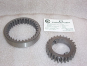 Th350 Th400 3L80 New Pump Gears Set .725 Thick