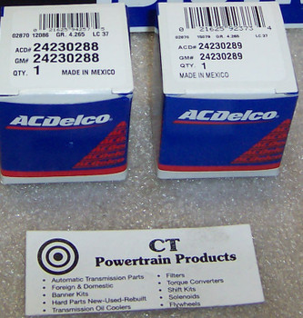 AC Delco 4L80E 4L85E New OEM 1-2 & 2-3 Shift Solenoid