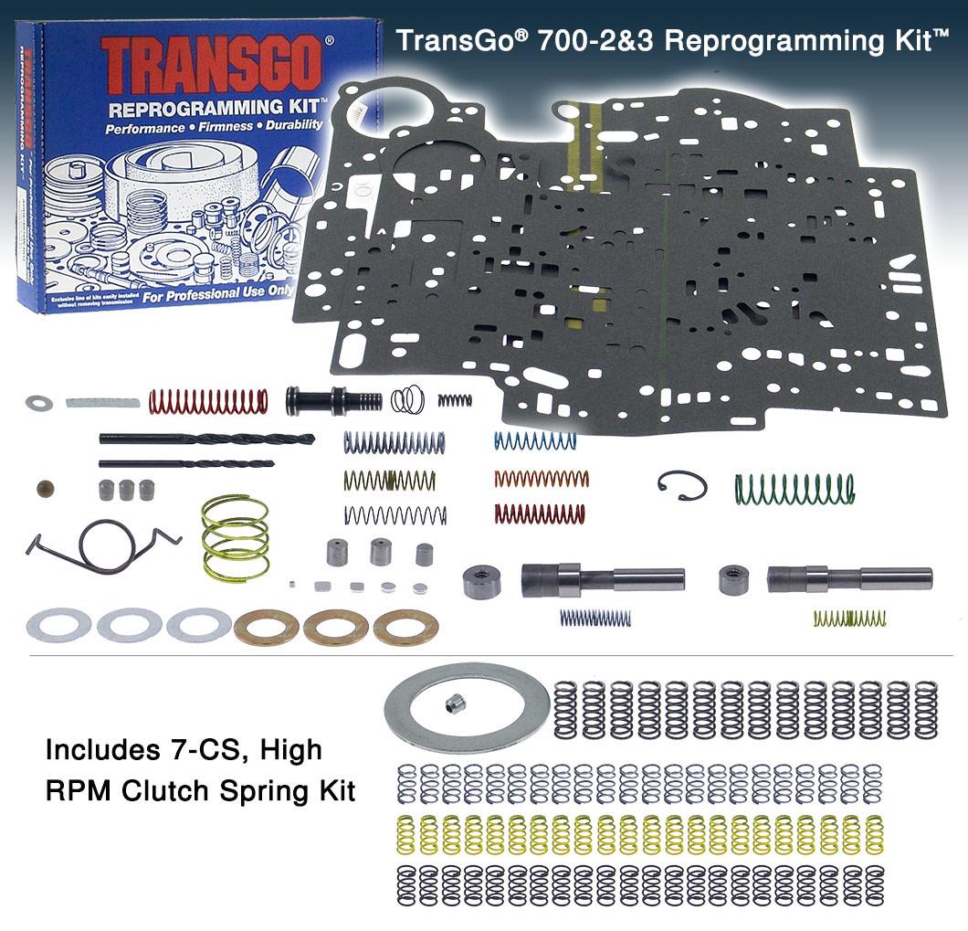 4l60e 4l65e 4l70e Transgo Shift Kit 4l60e Hd2 Valve Body Reprogramming Kit