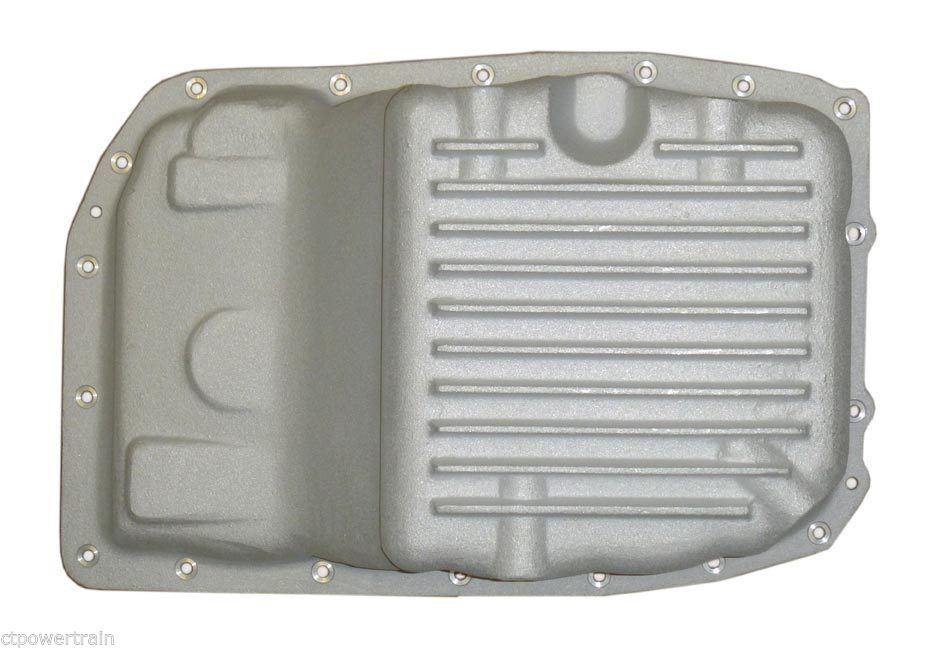 Transmission Oil Pan 6L80E 6L80 Deep As Cast Aluminum With Drain Plug