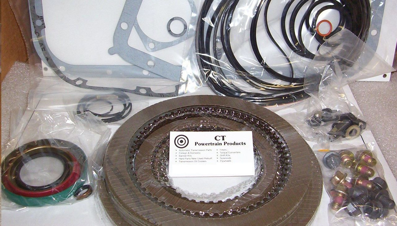 Allison AT 540 542 545 Rebuild Kit 1970-On Overhaul Gaskets Frictions - CT  Powertrain Products