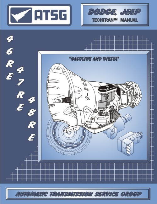 46re Transmission For Sale >> A 518 618 46re 47re 48re Transmission Repair Atsg Tech Manual Book