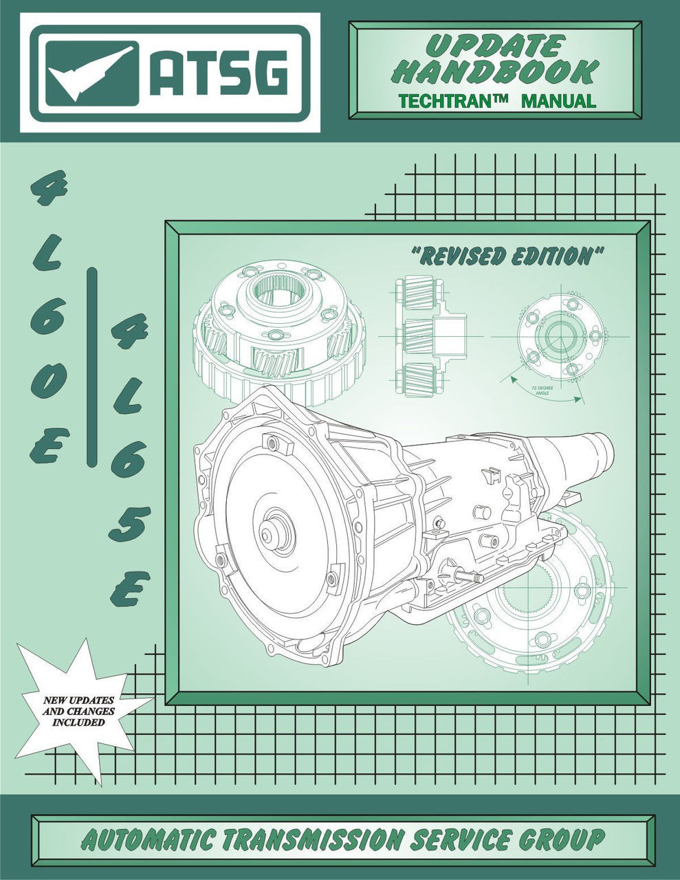 ATSG Tech Manual 4L60E 4L65E Update Handbook 1993-On Repair Book 4L6OE  Automatic