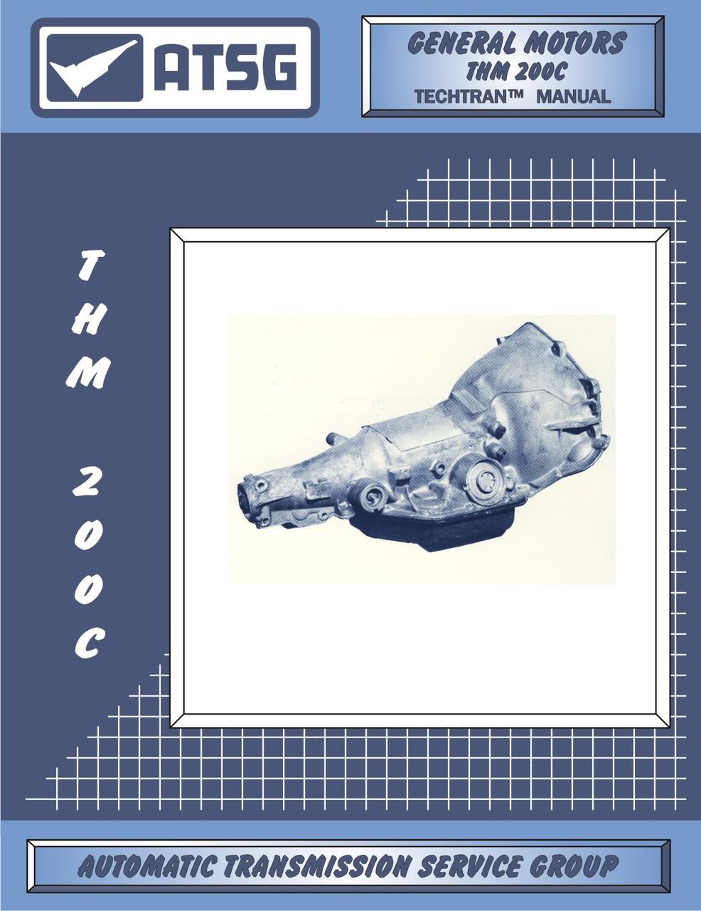 ATSG Tech Manual 4T65E 4T65-E 1997-On GM Chevy Cadillac Volvo Rebuild Guide Book