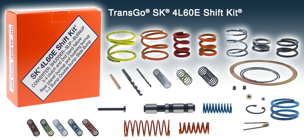Transgo 4l60e 4l65e Sk4l60e Shift Kit With Valve Inside To Fix P 1870 Ct Powertrain Products