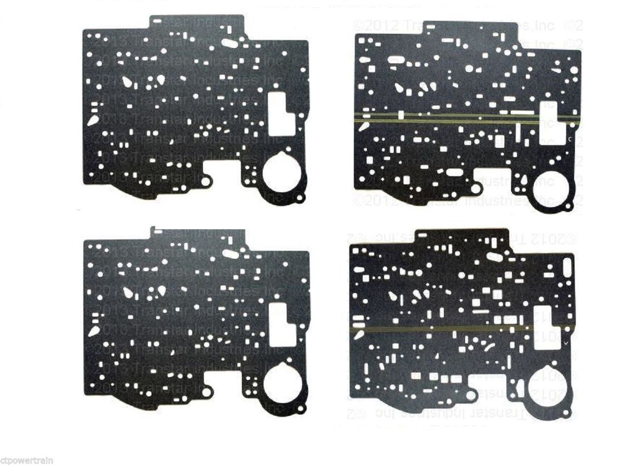 700 700R4 7R4 4L60 Valve Body Upper Lower Separator Plate Gasket Sub Kit  1982-93