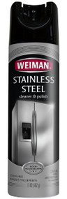 Weiman 6-17oz Stainless Steel Aerosal Cleaner & Polish