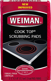 Weiman Cook Top Scrubbing Pads 3pk