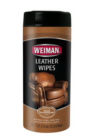 Weiman Leather Wipes 30 Sheets