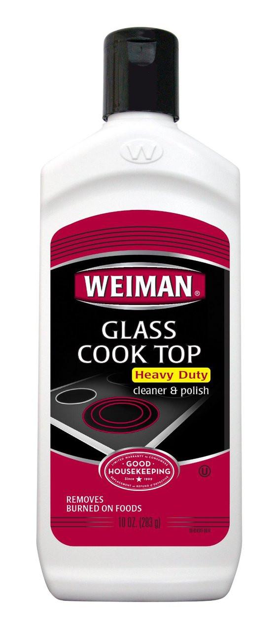 Weiman 10oz Glass Cook Top Cleaner - The Floor Store FLORSTOR