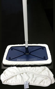 "Bona Hardsurface 8"" x 15"" Mop w/100% Terry Covers"