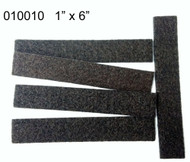 "1"" x 6"" Peel N Stick Brown Felt Floor Protectors Strips"