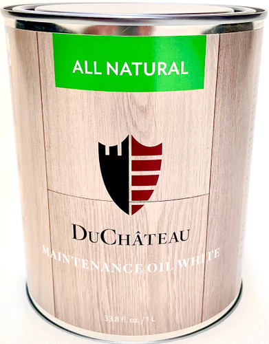 Duchateau White Oil for White washed floors